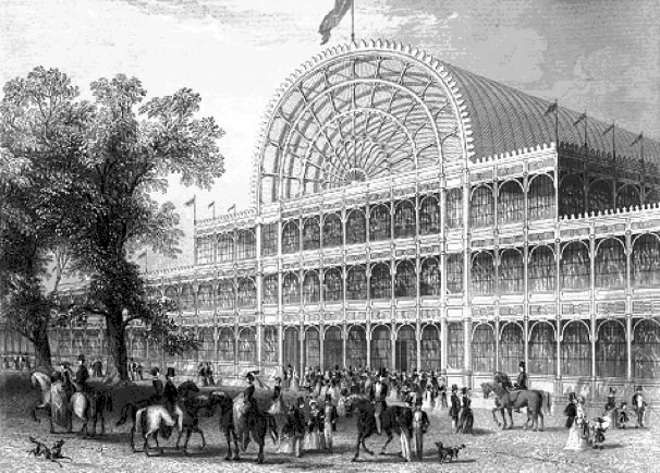 Le Crystal Palace de l'exposition de Londres (1851)