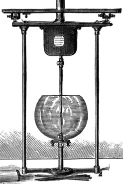 Lampe à arc Brush (1881)