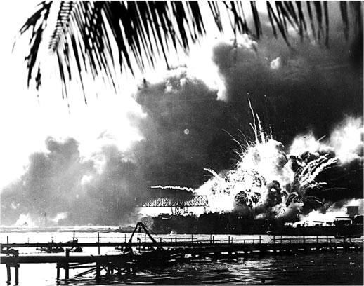 Attaque japonaise sur Pearl Harbor, 7 décembre 1941