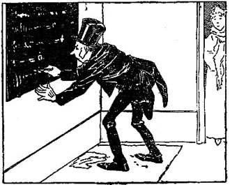 Le savant Cosinus (dessin de Christophe)