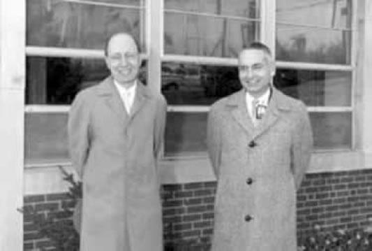 Eugene Wigner et Alvin Weinberg
